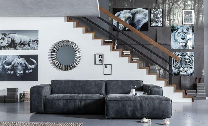 Las fotografías son complementos que, aun no siendo textiles, visten mucho la casa y realzan las paredes. En este caso, en blanco y negro, claro. De Kare Design.