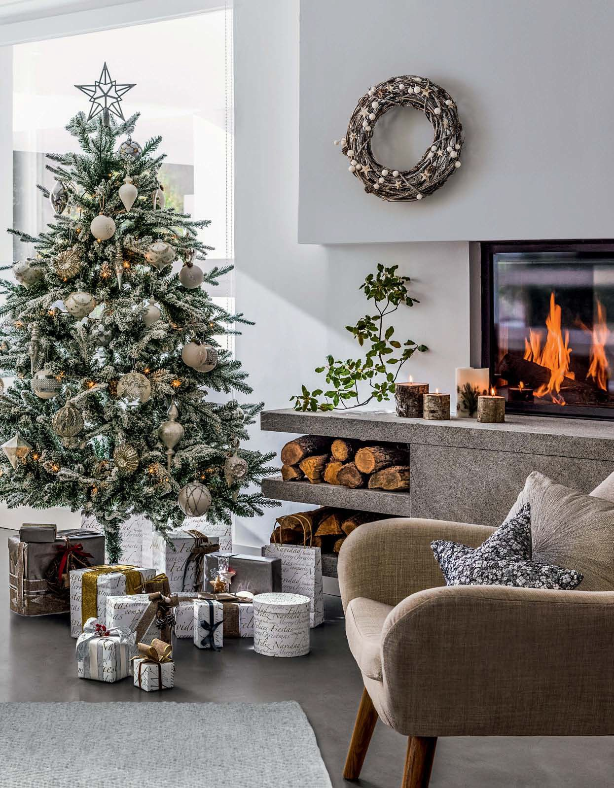 Decorar Salon Navideno.20 Ideas Para Decorar Tu Casa En Navidad