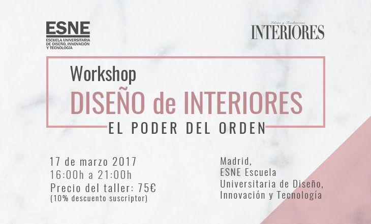 Workshop El poder del orden