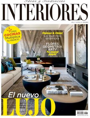 portada revista Interiores marzo