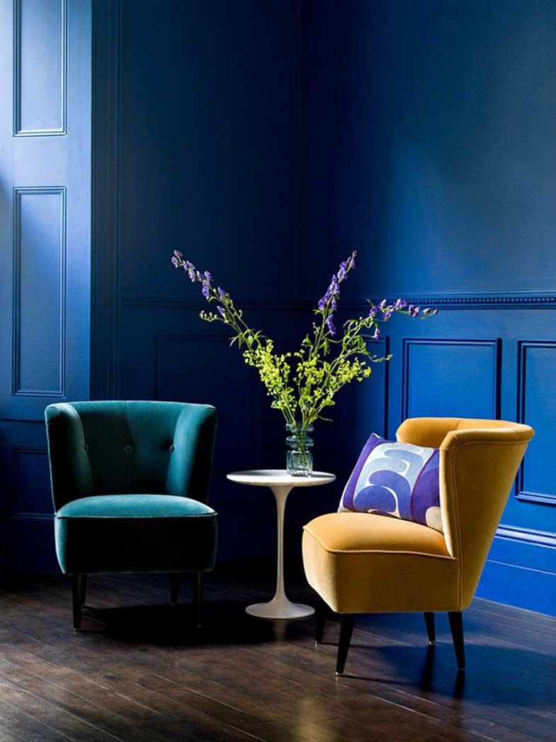 Detalle sillas en dos colores