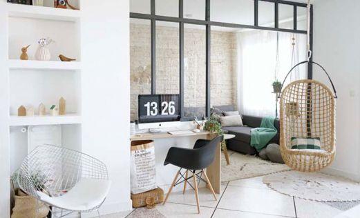 Decoración espacio de trabajo en casa