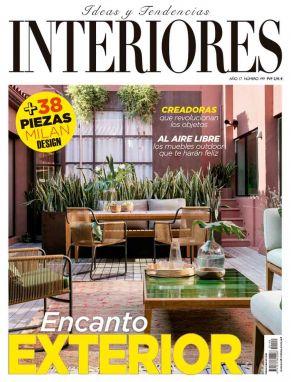 Portada Revista Interiores mayo 2017