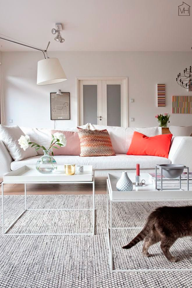 Como Decorar Un Sofa Blanco Con Cojines.Claves Para Elegir Los Cojines Para Sofas