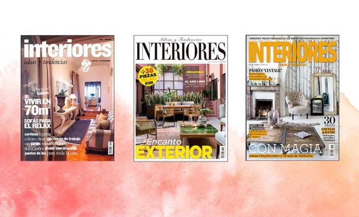 Número 200 revista Interiores portada
