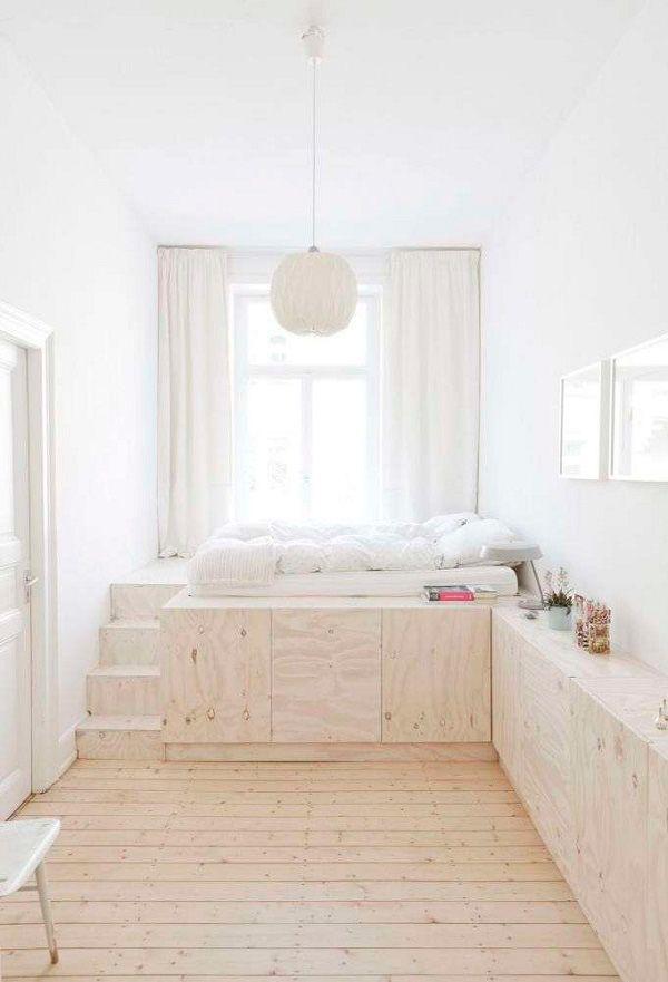 ideas de diseño de dormitorio para espacios pequeños Ideas De Decoracin Para Habitaciones Pequeas