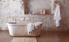 Decoración baños rústicos