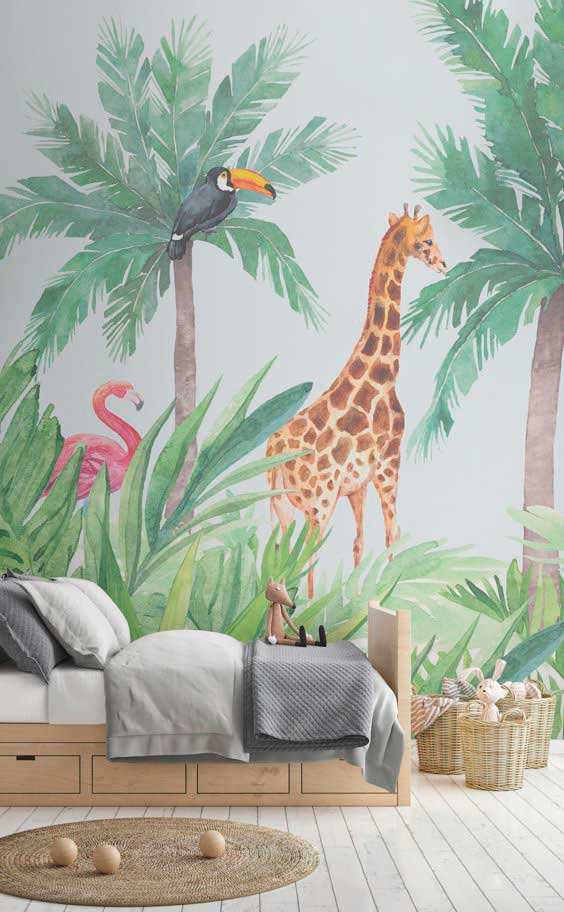 Decoracion habitacion infantil Murals Wallpaper