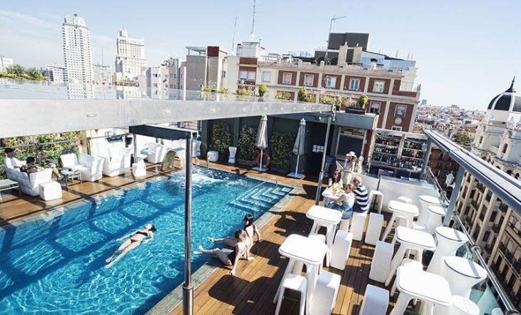 piscina santo domingo hotel