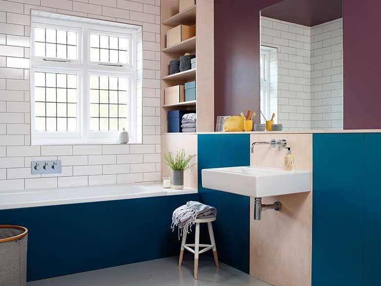 Renueva baño y cocina con pintura para azulejos