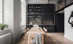 Cocinas en negro