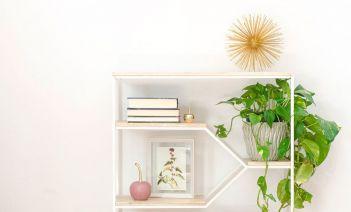como decorar una estanteria - R DE ROOM estanteria 06