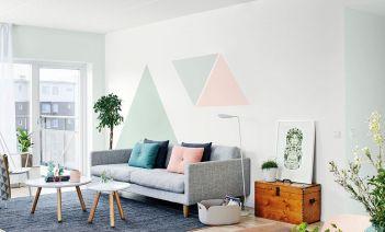 como pintar pisos pequeños