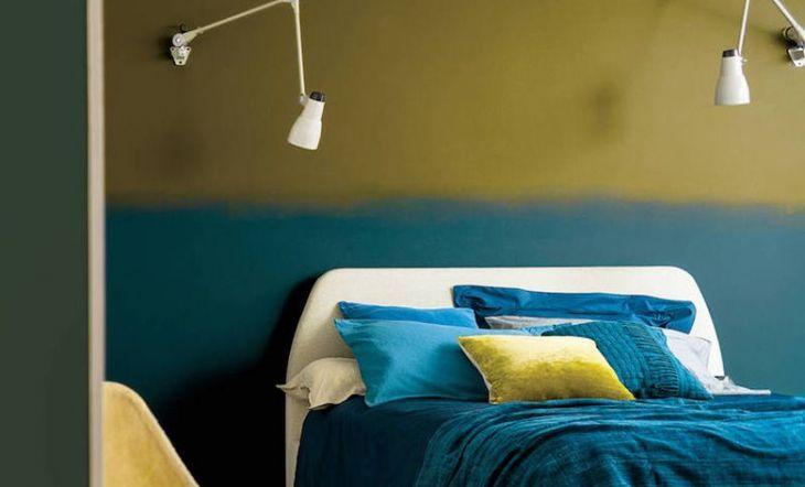ideas de decoración de dormitorios paredes de color verde claro Colores Para Pintar El Dormitorio