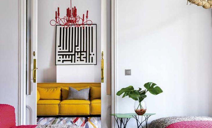 Reforma YNOT Casa Alfonso XII sillones color