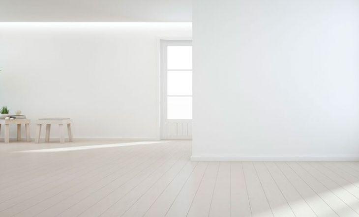 recibidor blanco