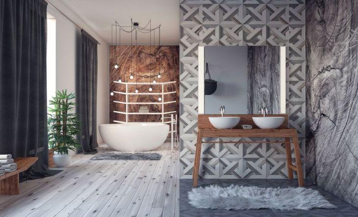 12 cuartos de baño con color y mucho estilo