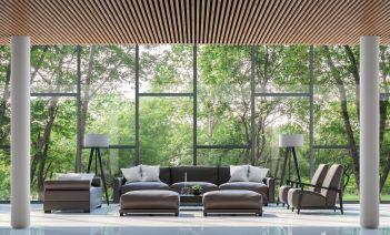 minimalismo en hoteles, plantas que naturalizan y dan un toque personal