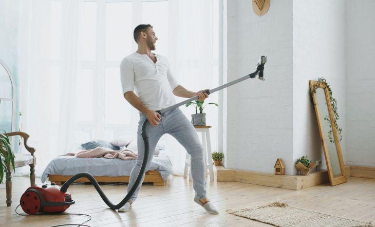 limpiar la casa cada cuanto
