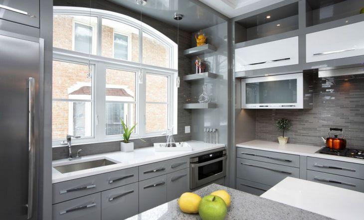 paredes de cristal cocinas