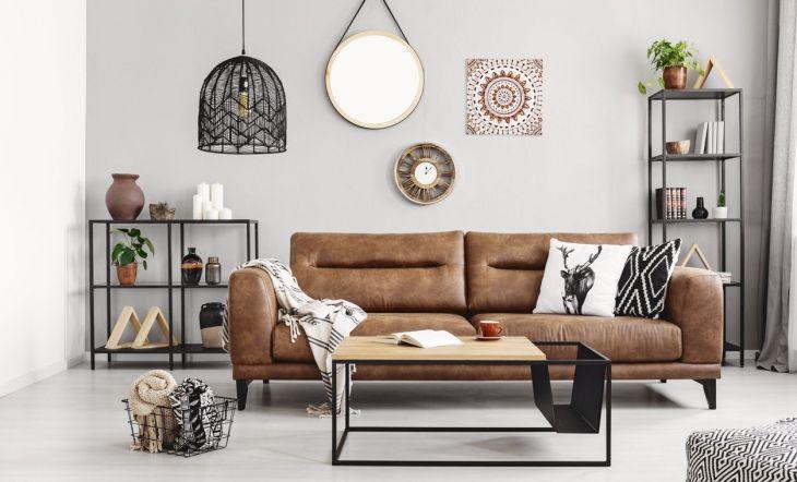 sofá decoración cómodo acogedor