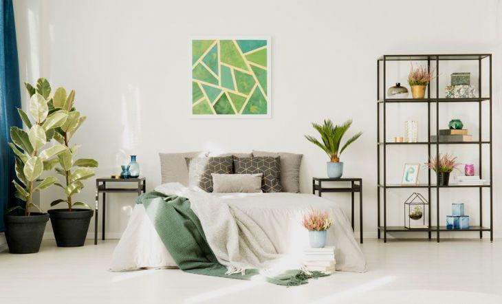 Habitación estresante dormitorio