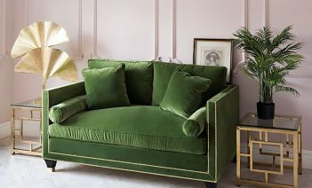 Decoracion verde y rosa Sweetpea & Willow
