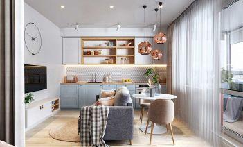 Decoracion espacios pequeños studio apartment
