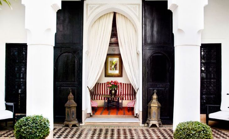 L hotel marrakech decoracion