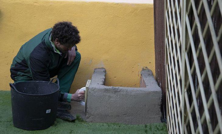Paso a paso contrucción de una jardinera