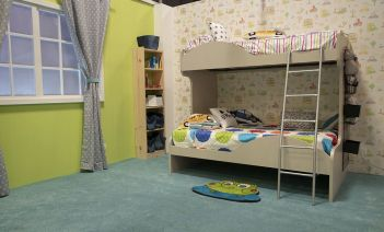 Habitación infantil Albert e Iván