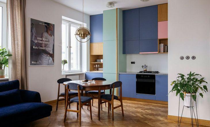 Cocinas color Kroniki Studio