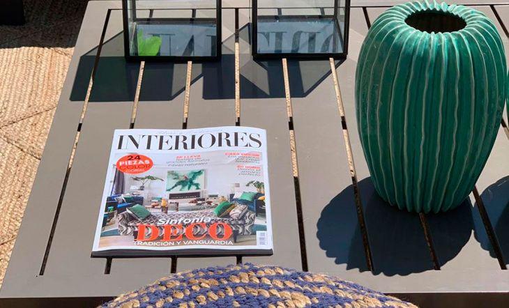 La revista Interiores diseña los espacios deco de la Mercedes-Benz Fashion Week
