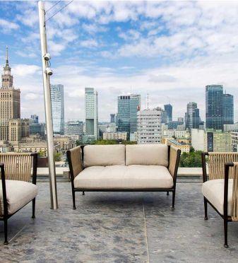 Terraza hotel Warszawa
