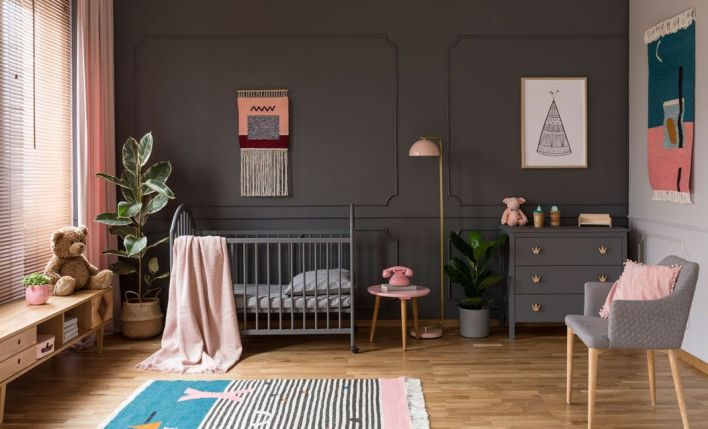Decoración habitación infantil por colores
