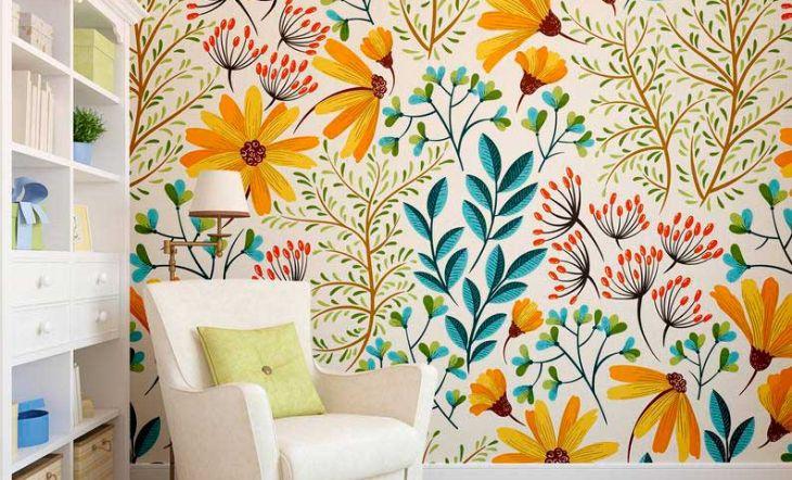 papel pintado fuera de la pared etsy