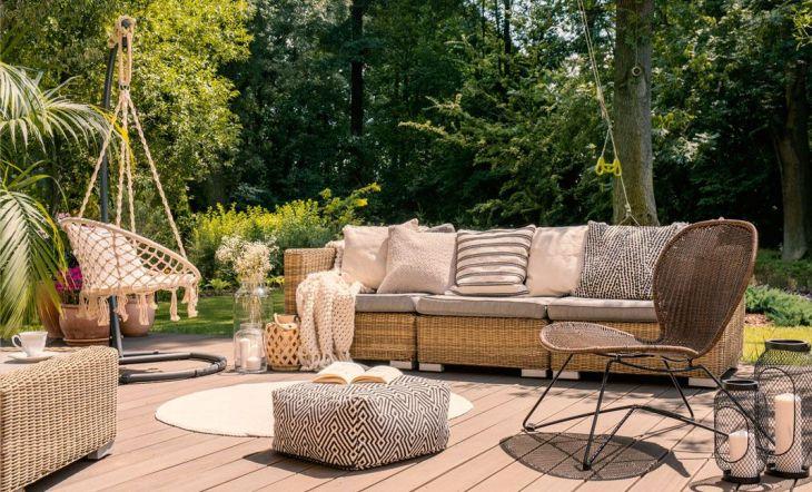 Cuidar los muebles de exterior de tu casa
