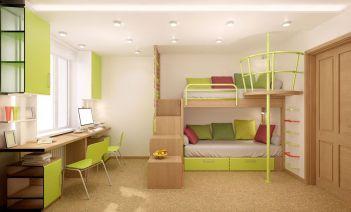 Literas para los dormitorios infantiles