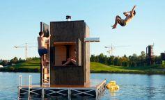 Sauna flotante de goCStudio