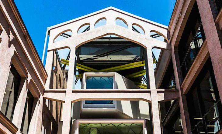 Edificio Medialab-Prado del arquitecto Manuel Álvarez Naya. // Autor: Jordi Bernadó