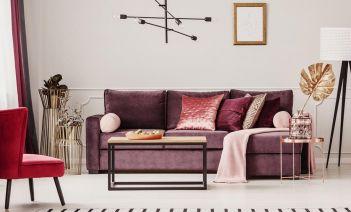 10 formas de potenciar la elegancia de tu casa con terciopelo