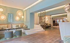 El reformado Hotel Vía Augusta evoca la Barcelona del siglo pasado