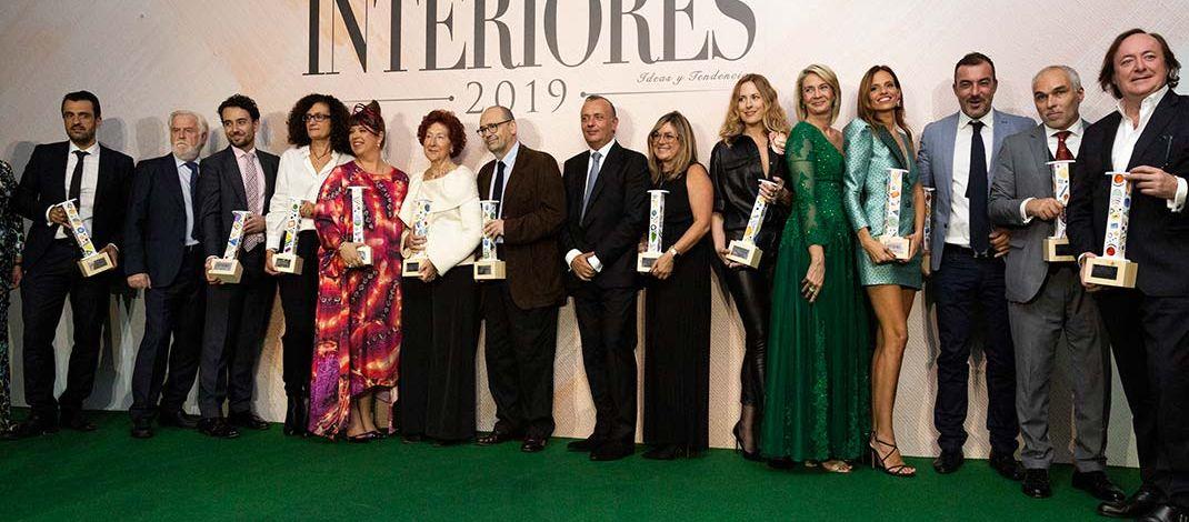 Foto de familia de la V edición de los Premios Interiores