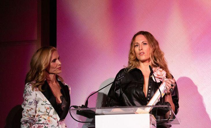 Nika Zupanc, Premio a la mejor Trayectoria Internacional, también se dirigió a los asistentes tras recoger su trofeo