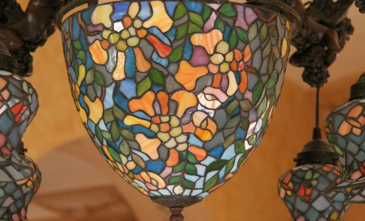 Tiffany, las exclusivas lámparas artesanales