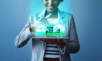 La casa de 2050 tecnología avanzada, espacios verdes y energía eficiente