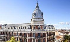 Fachada del edificio en Velázquez 21