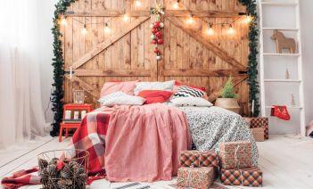 Cómo vestir tu cama en Navidades