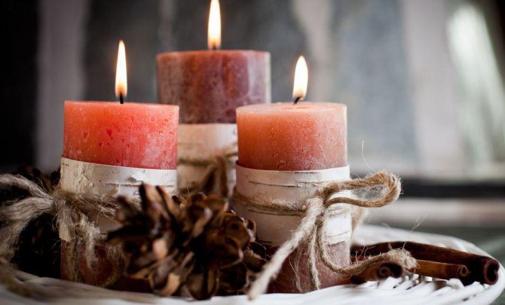 Cómo hacer velas aromáticas caseras