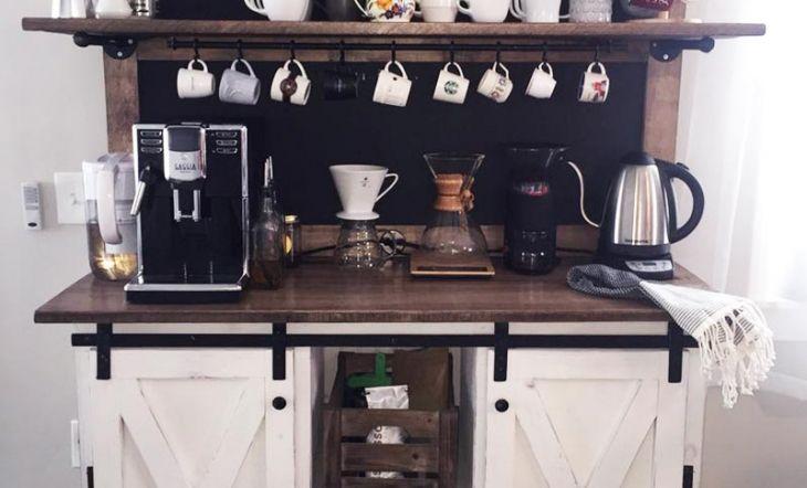 El universo del café llega al hogar, crea tu propio coffe bar